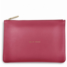 Katie Loxton BAG OF TRICKS Perfect Pouch Clutch Bag -  Fuchsia Pink